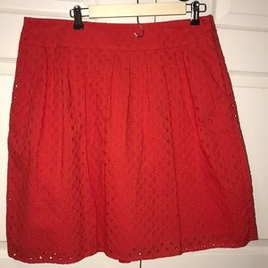 Cute poppy colored skirt